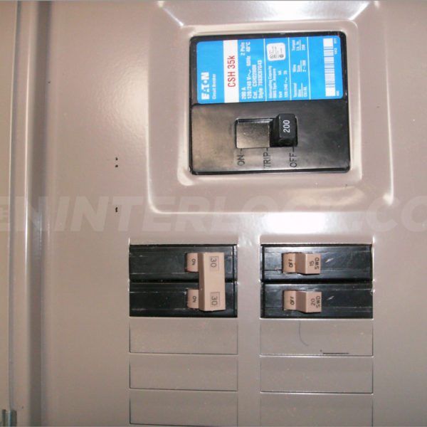 Generator interlock kit Eaton / Cutler Hammer 150 to 200 ...