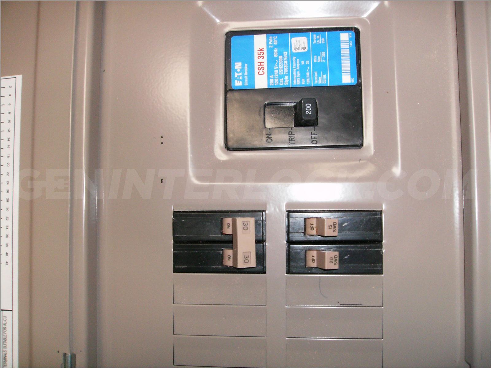 murray 200 amp wiring diagram generator interlock kit eaton cutler hammer 150 to    200     generator interlock kit eaton cutler hammer 150 to    200
