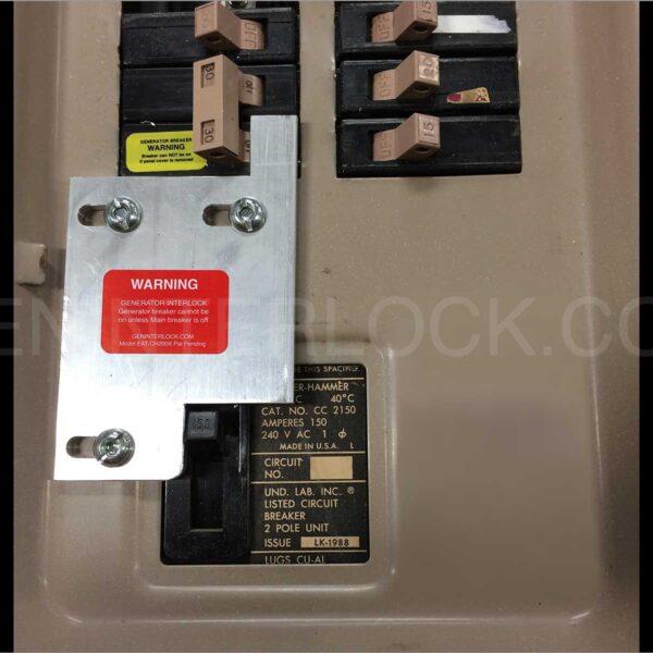 Generator Interlock Kit Eaton Cutler Hammer 150 To 200