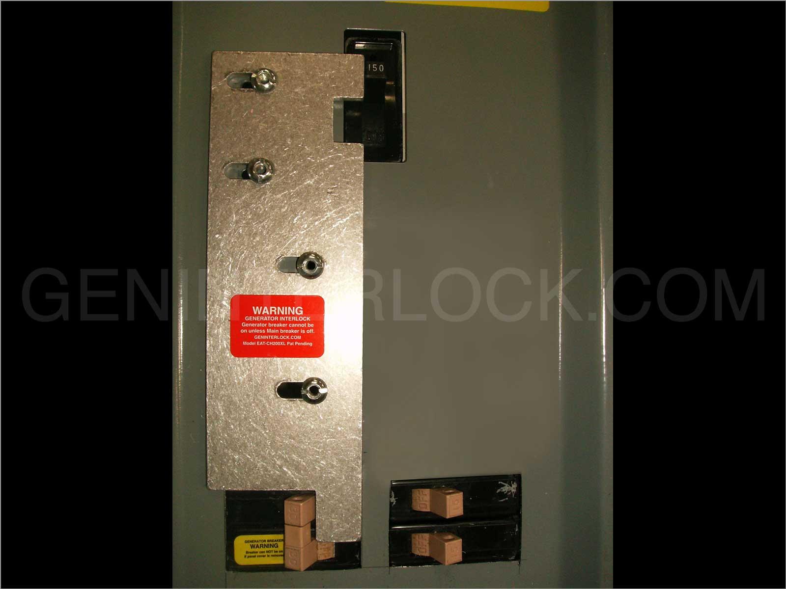 Generator Interlock Kit Cutler Hammer Ch Series 150 Amp 200