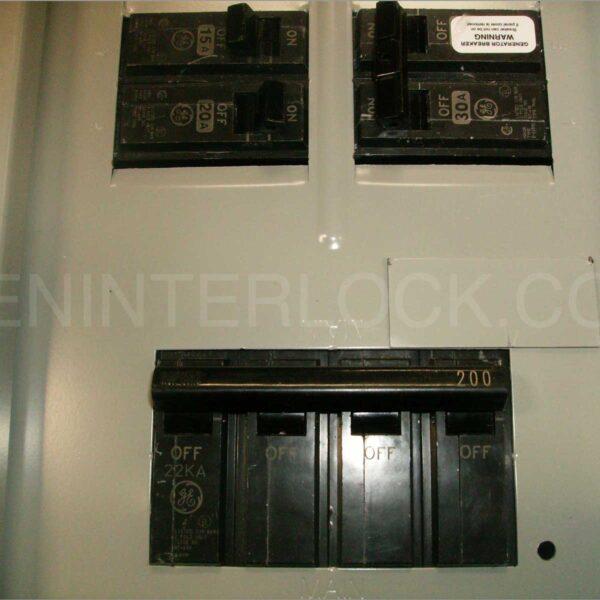 General Electric Ge Generator Interlock Kit 200a Panel