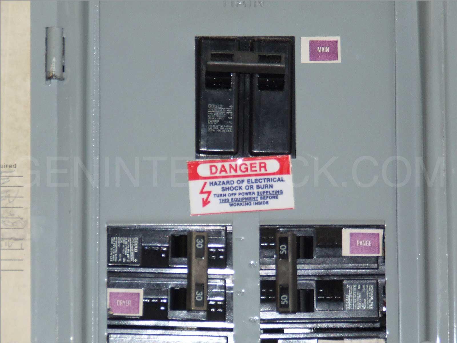 bryant electrical panel  | geninterlock.com