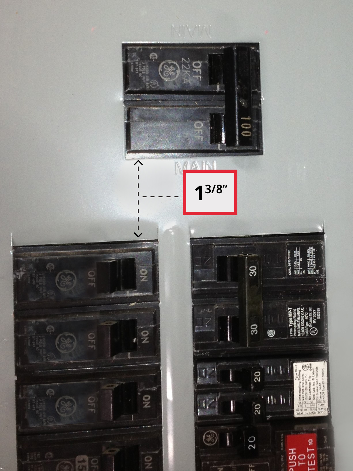 Ge Electric Panel on