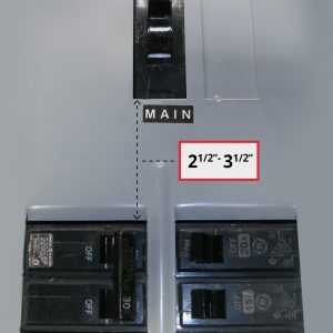 GE-200VL-Panel w measurement A
