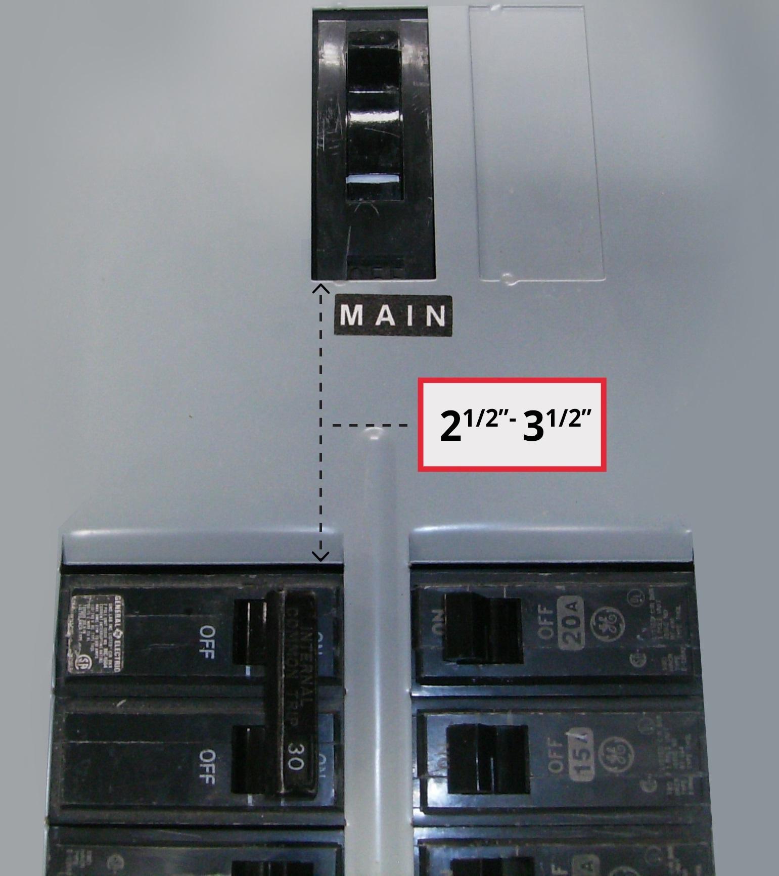 GE-200VL-Panel w measurement A