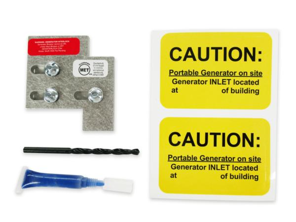 Generator interlock kit, Siemens and Murray 100 Amp Panels | GenInterlock