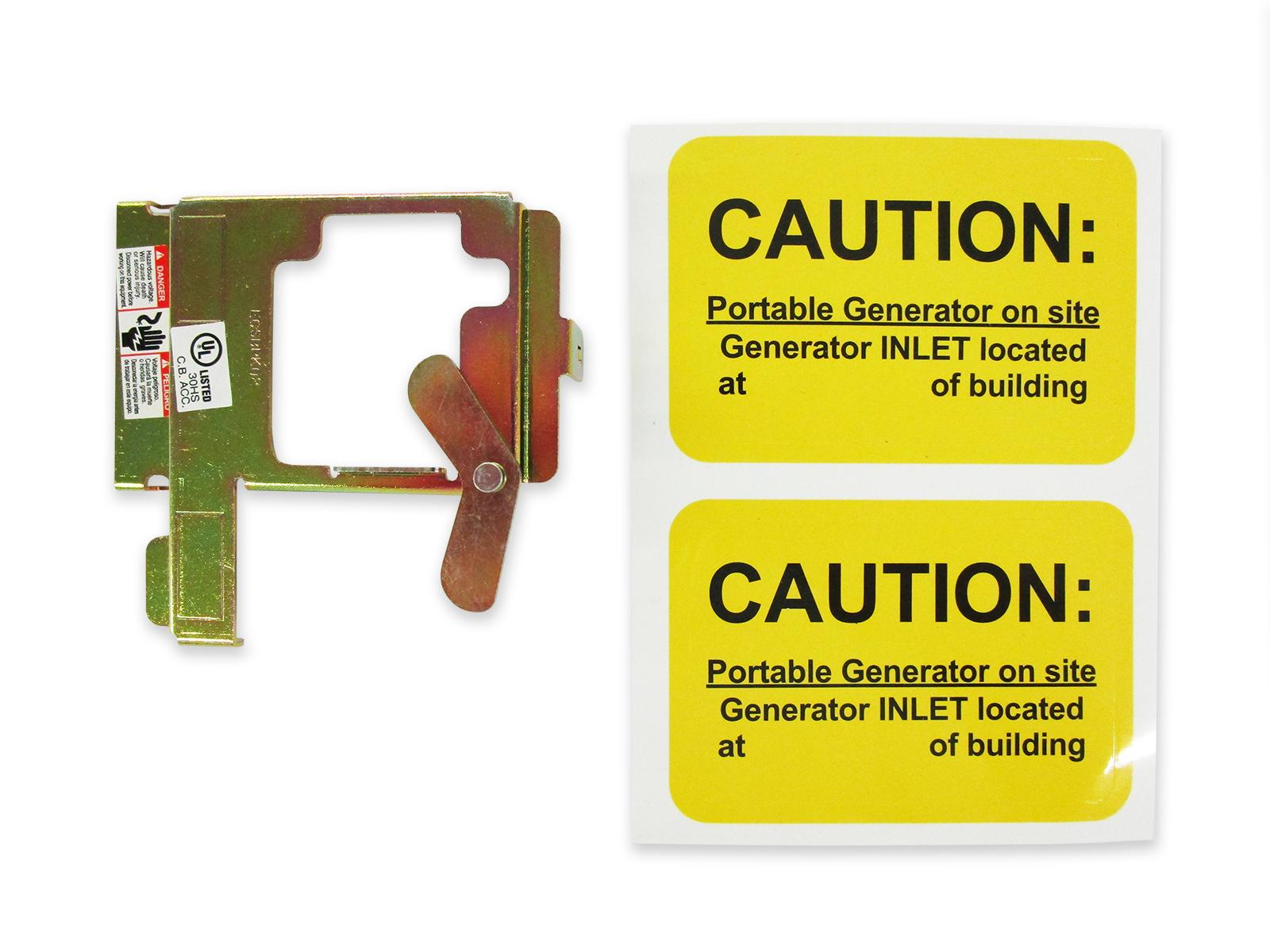 Siemens Gould or ITE Generator interlock kit 100 Amp Panels ITE-100 Murray