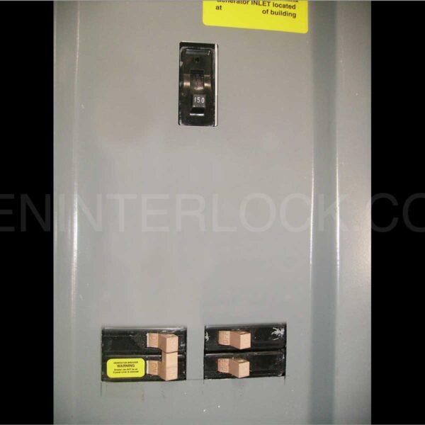 Generator Interlock Kit Cutler Hammer Vertical Main 150