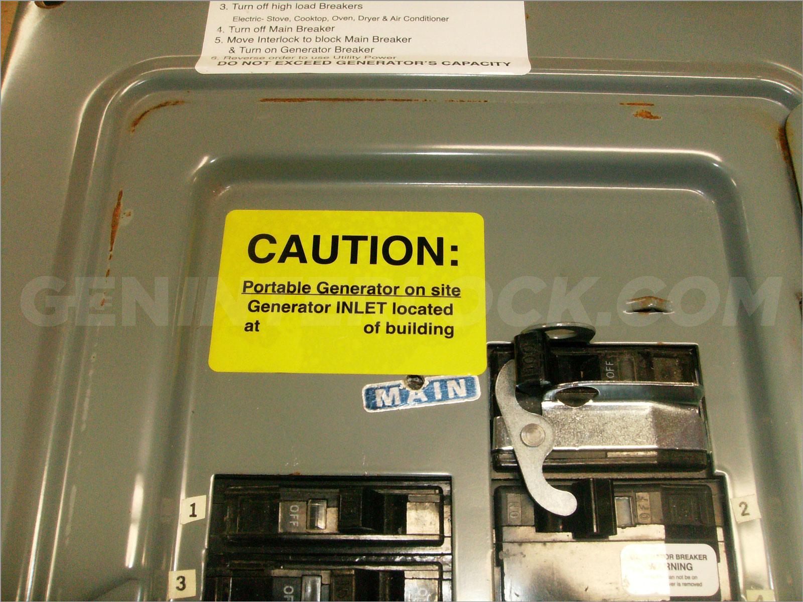 Oem Model Generator Interlock Kit Square D Qo 100 Amp