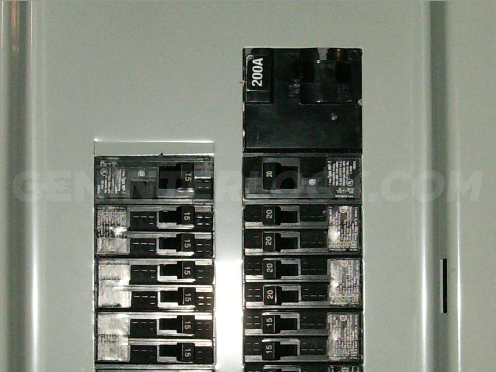 Oem Model Generator Interlock Kit Siemens And Murray 150