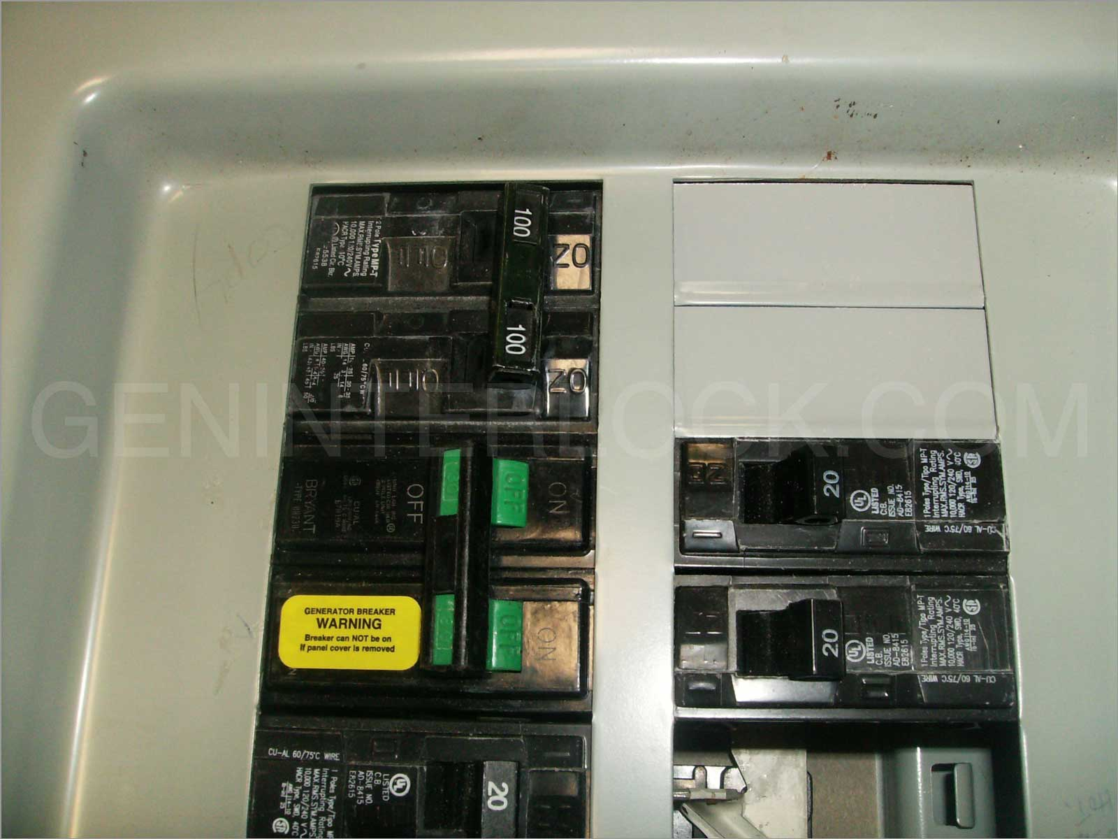 Oem Model Generator Interlock Kit Siemens Murray Ite