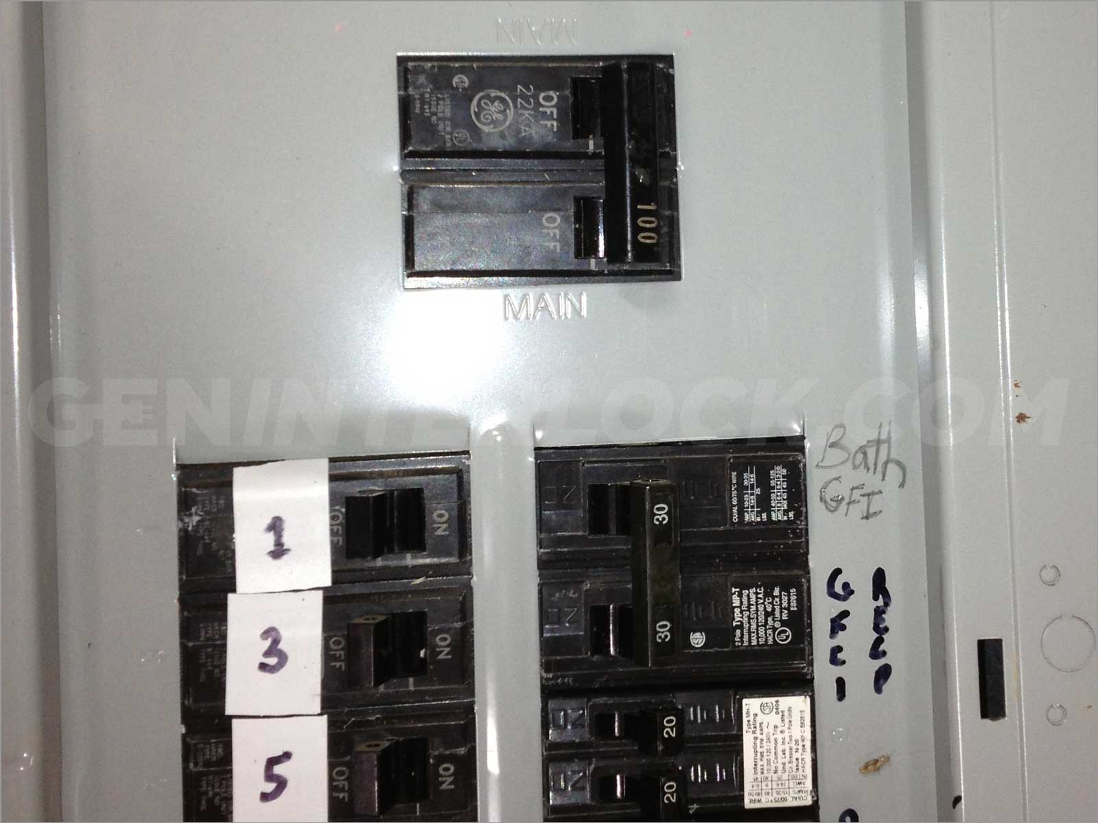 100 Amp Circuit Panel - Wiring Diagram For Light Switch •