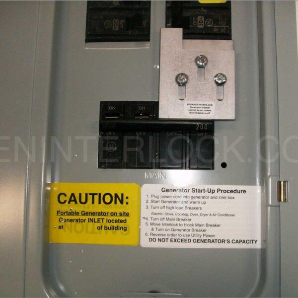 Ge B I Lg X on Siemens Generator Interlock Kits For 200 Amp Panels