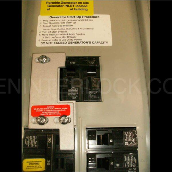 Generator Interlock Kit Fits Gould, ITE, Siemens Or Murray