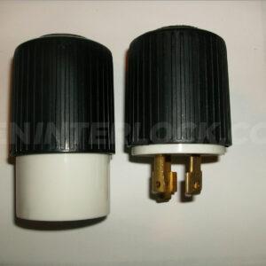 L5 30 P Male To L14 30 R Female Generator Adapter Twist
