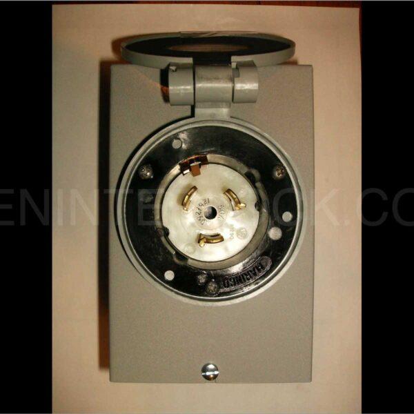 30 Amp Extension Cord >> Power Inlet 50 Amp Twist Lock   GenInterlock