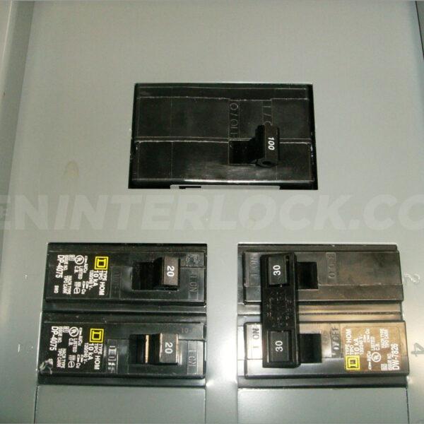 OEM Model Generator Interlock Kit Square D Homeline 100 A