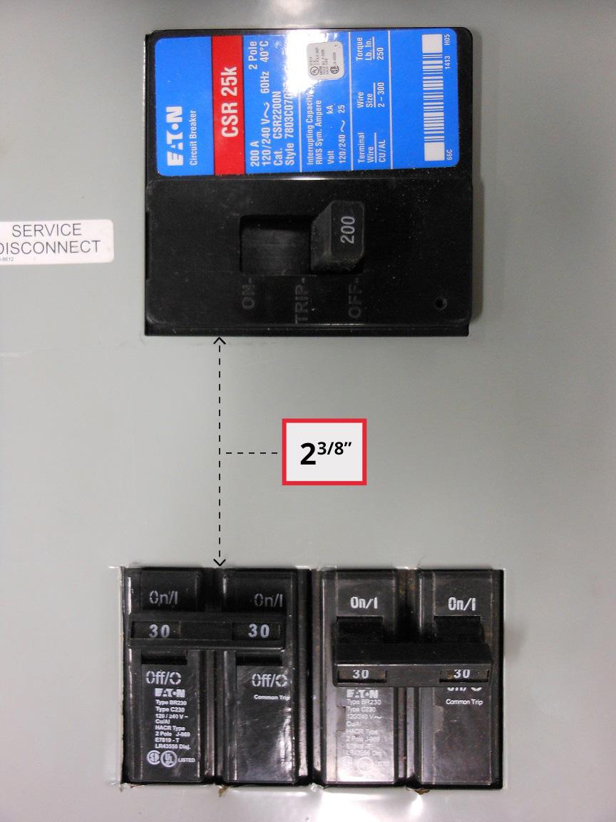 Generator Interlock Kit Cutler Hammer Br Series 150  U0026 200
